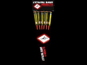 6 Extreme Bang Rockets