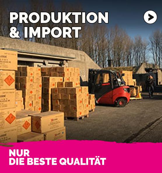 Produktion und Import