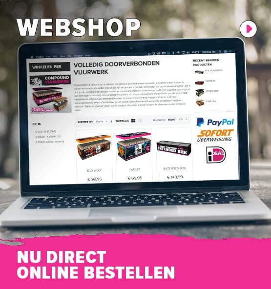 Webshop (nu direct bestellen)