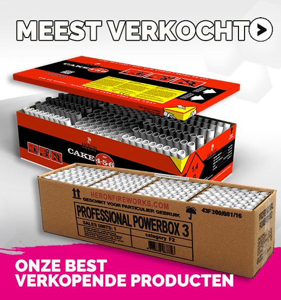 onze bestverkopende vuurwerk producten
