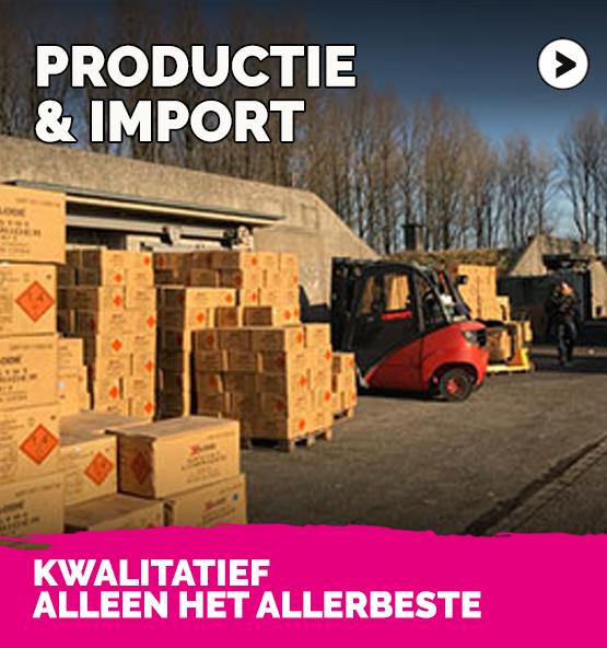 productie en import vuurwerk