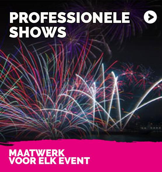 professionele vuurwerkshows