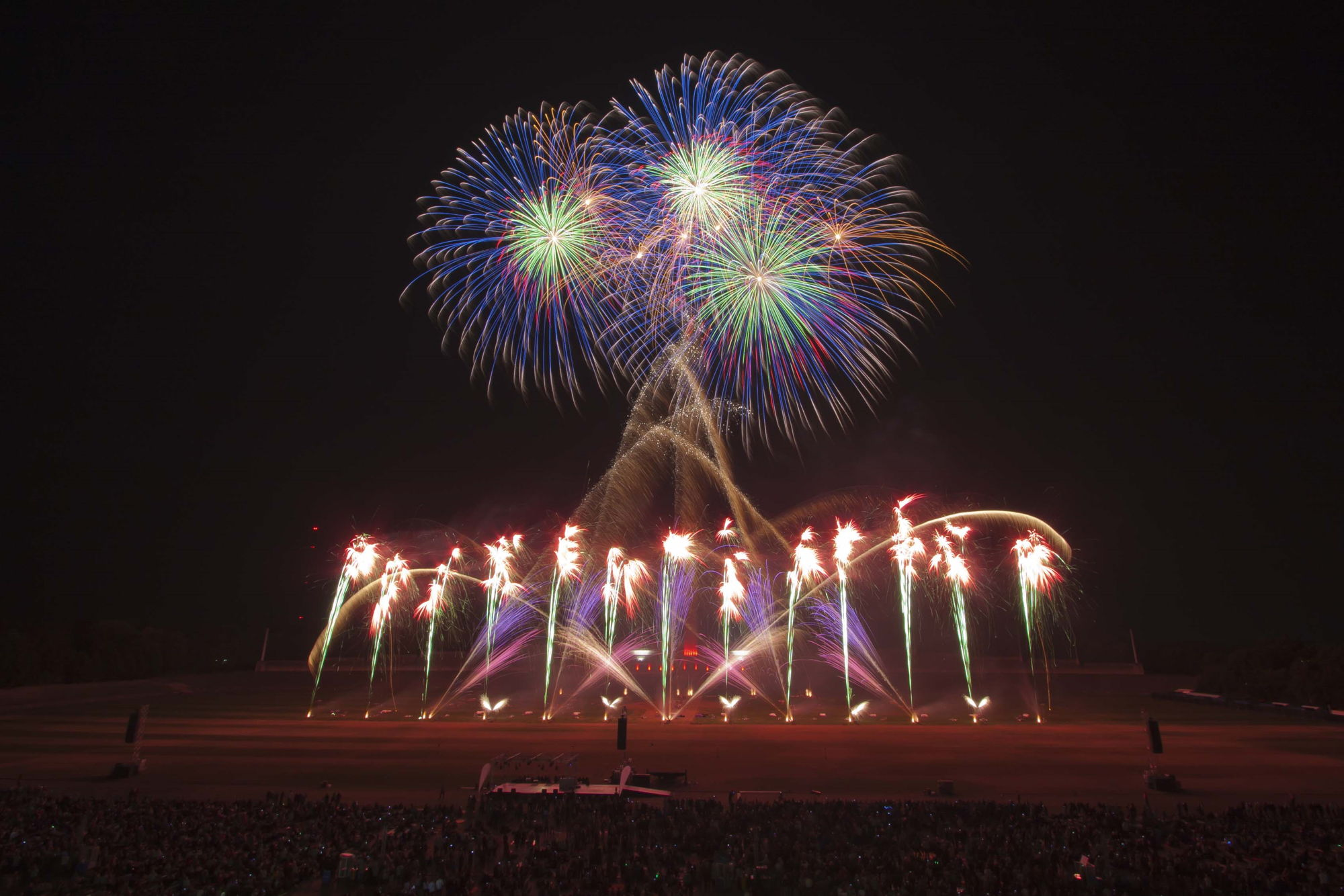 International fireworks competitions